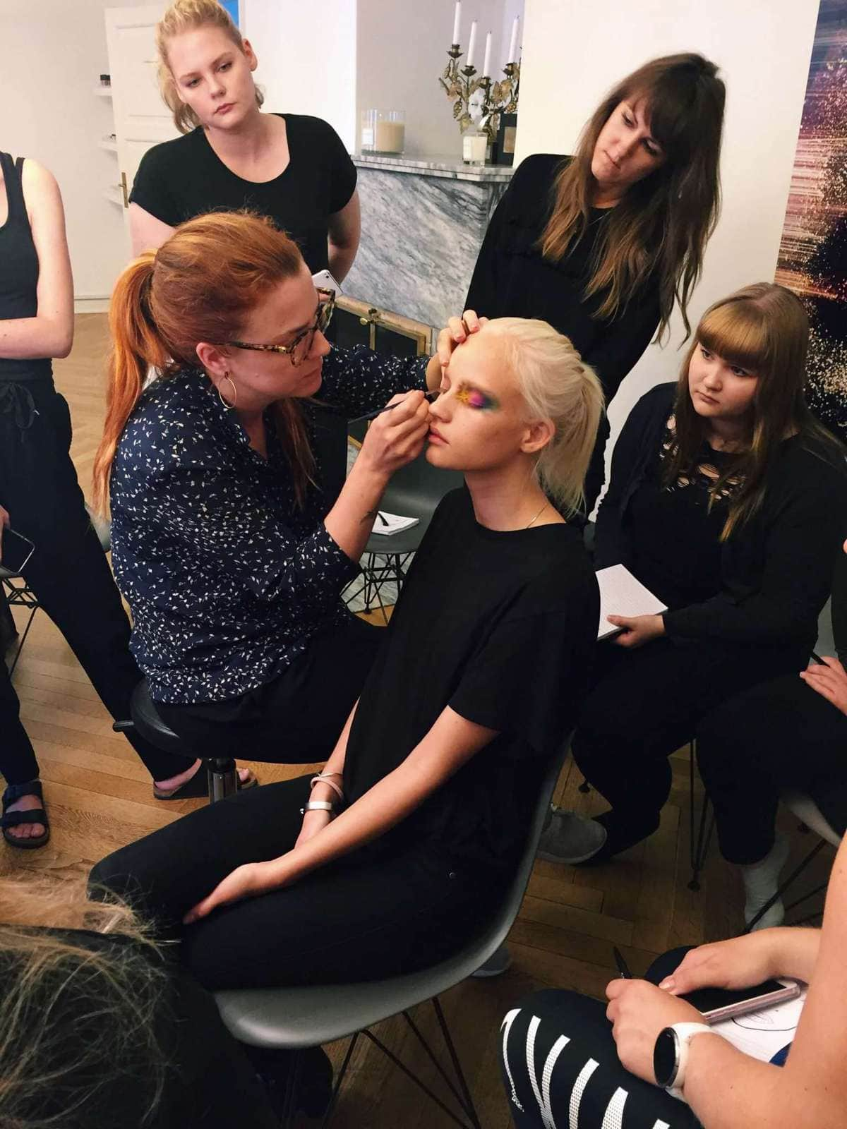 Anne Staunsager ! Sine Ginsborg - Hair & Make-Up School.