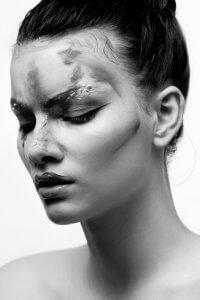 Face-Liner-Makeupart, Sine Ginsborg Hair & Make-Up Shool, 2017