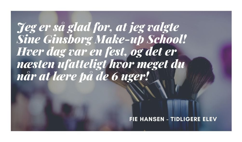 Fie Hansen Makeup artist