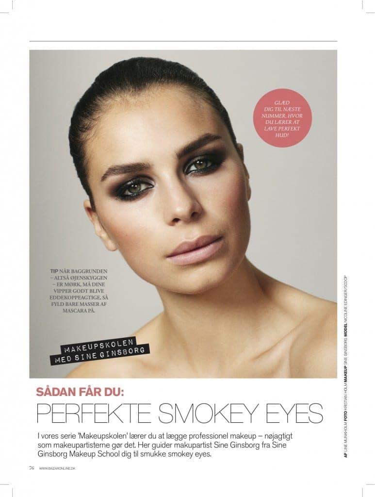 Tip til perfekte smokey eyes,