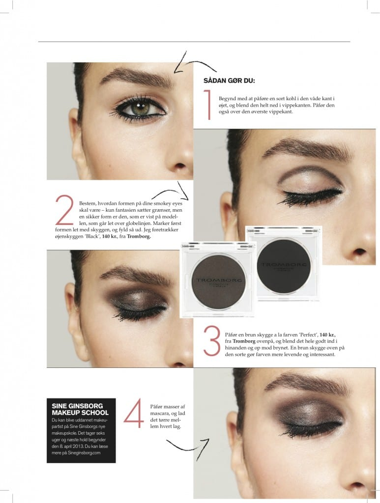 Fif - Til Perfekte smokey eyes, makeupskolen,