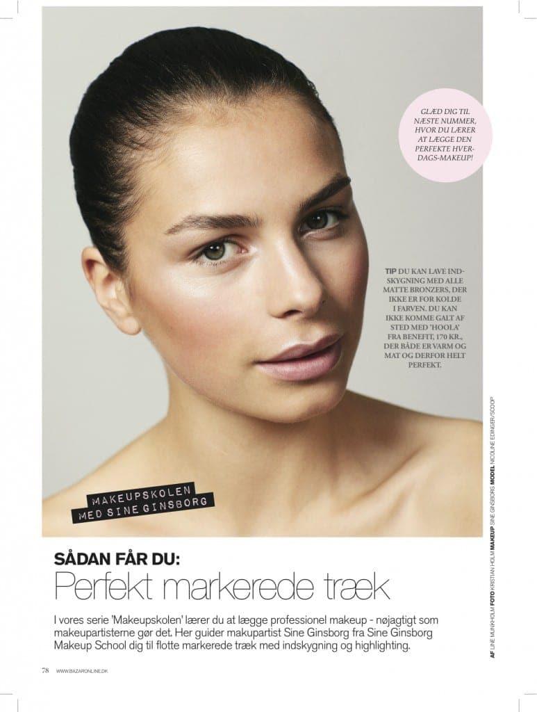 Makeup Tips - Perfekte markerede træk, contouring,