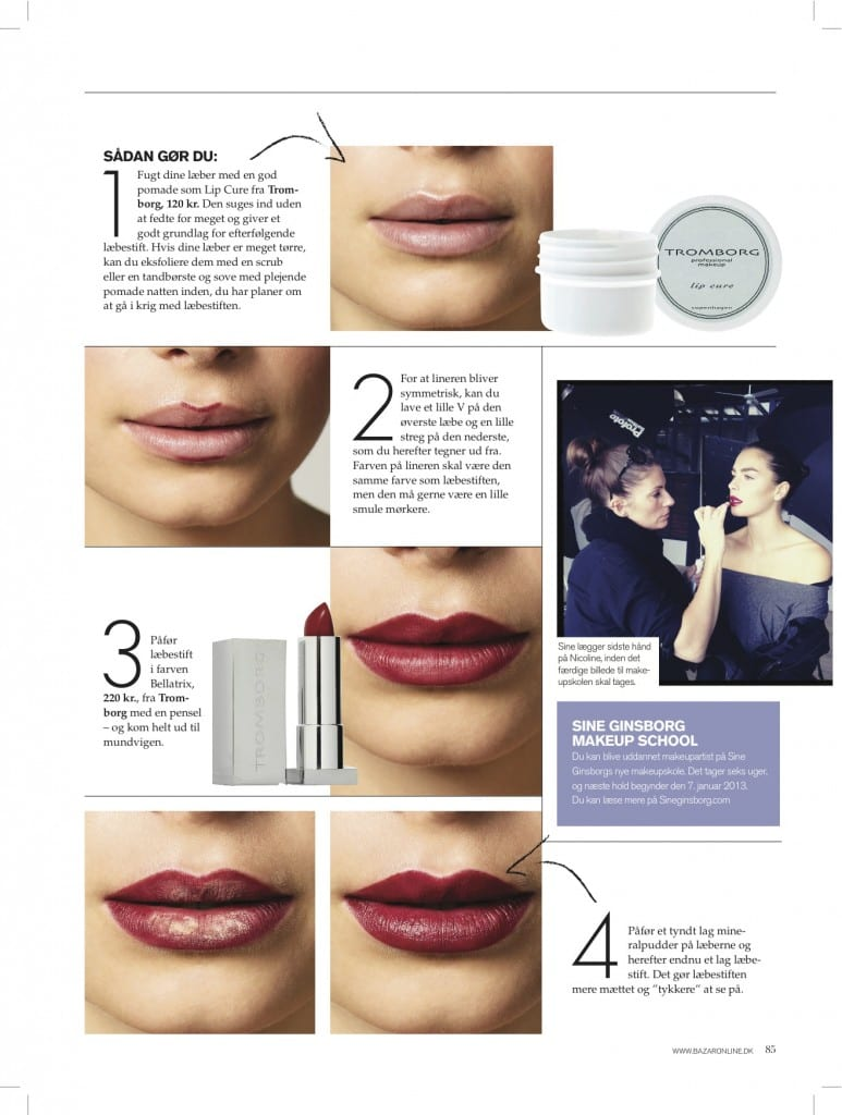 Sådan lægger du den perfekte læbestift, step by step-perfect lipstick,