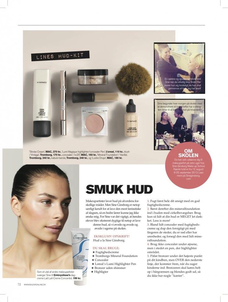Smuk hud-Makeuptips, Skincare, Lines-Hud Kit, Makeupskolen,