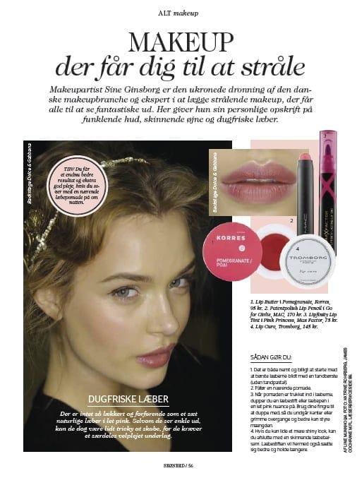 Sådan får du Dugfriske læber, Alt for damenerne, ALT Makeup