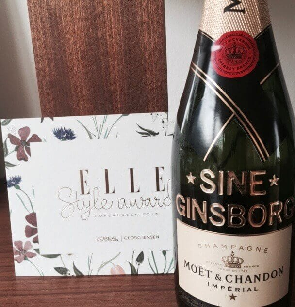 Elle Style Awards 2016, SIne Ginsborg,