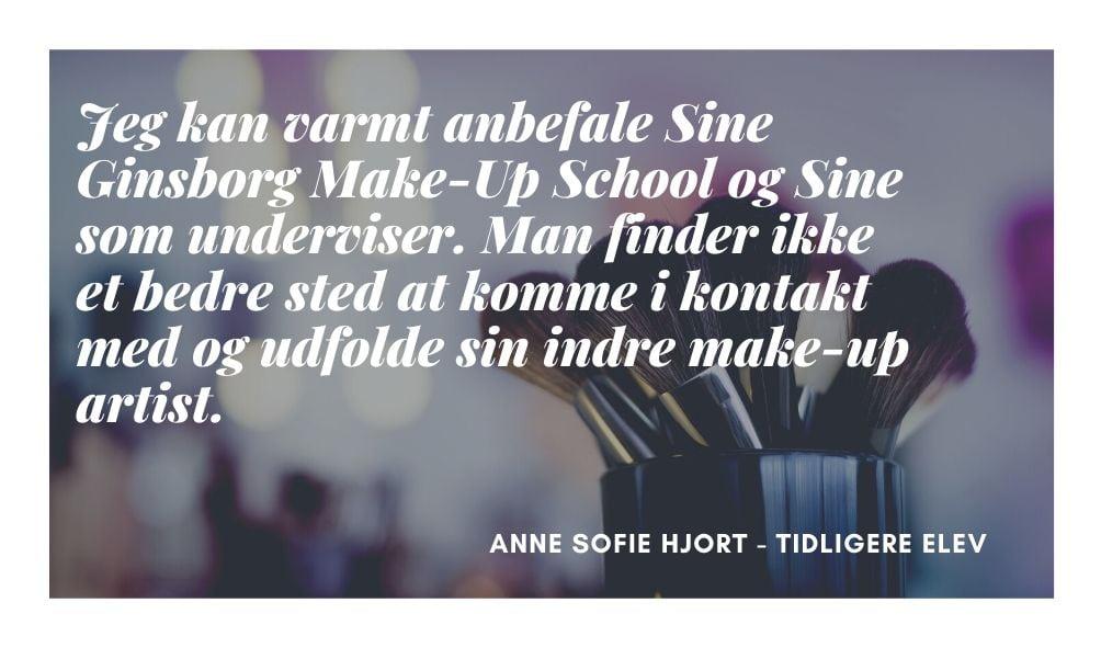Anne Sofie Makeup artist