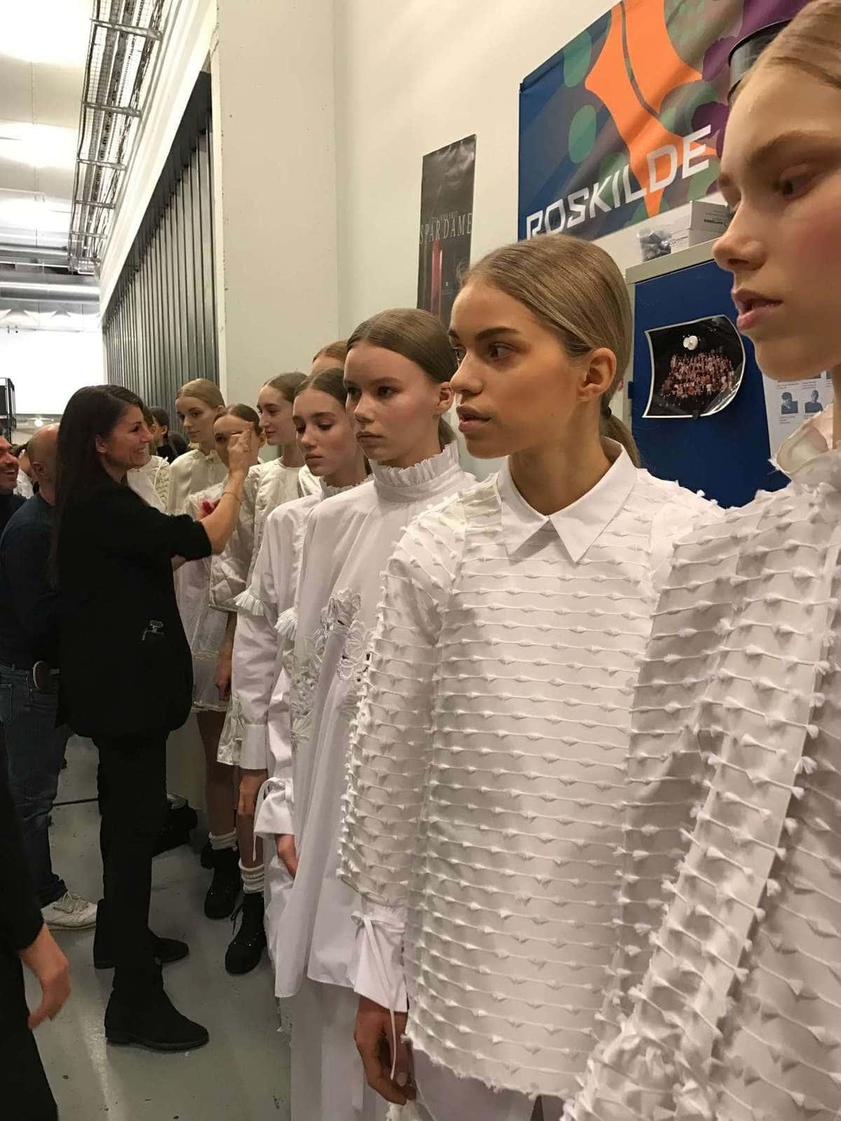 Fashion Show Cph , Cecilie Bahnsen, Beauty, Modeshow , Sine Ginsborg, Makeup Artist KBH,