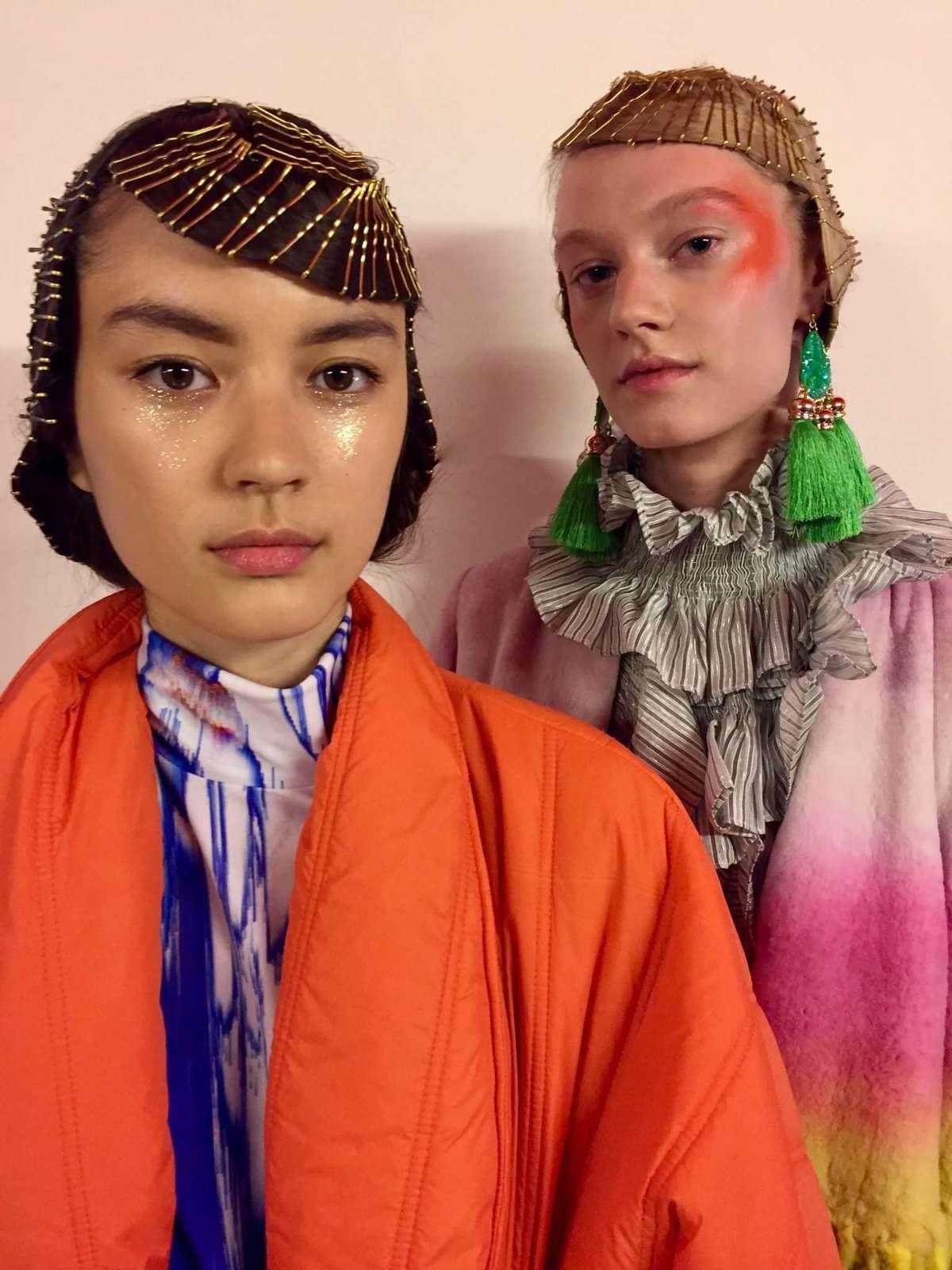 Skørt og smukt, Sine Ginsborg Hair & Make-Up School,